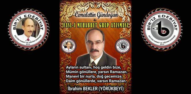 Biriz Edebiyat Cemalettin Gündoğan İle Fasl-ı Muhabbet Grup Atışması 33