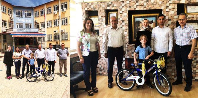 Necip Fazıl Kısakürek İlkokulundan Türkiye Birincisi