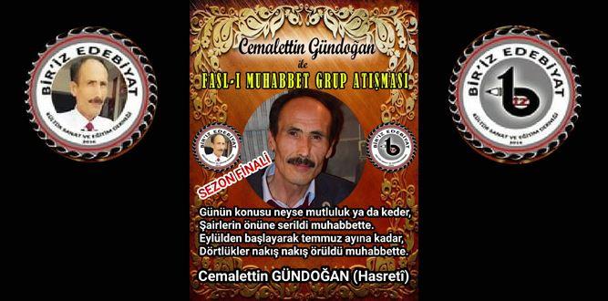 Biriz Edebiyat Cemalettin Gündoğan İle Fasl-ı Muhabbet Grup Atışması 40 Final