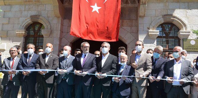 Tarihine Sahip Çıkan Elbistan'da Kent Müzesi Açıldı