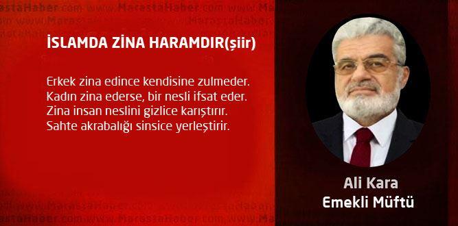İSLAMDA ZİNA HARAMDIR(şiir)