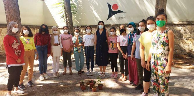 Arslanbey Ortaokulu öğrencilerine,Telafide Ben De Varım Eğitimi
