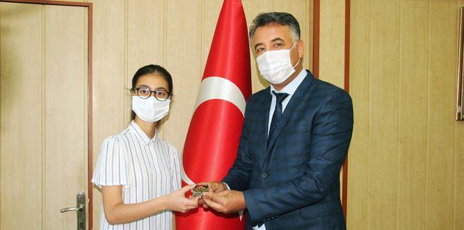 Milli Eğitim Müdürlüğü LGS Türkiye 1.sini Ödüllendirdi.