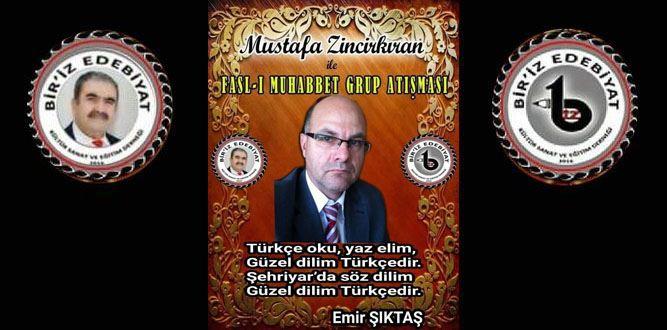 Mustafa Zincirkıran'la Fasl-ı Muhabbet Şiir Seçkisi