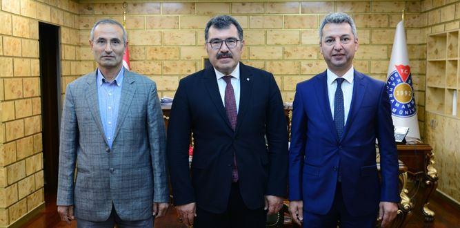 TÜBİTAK Başkanı Prof. Dr. Hasan Mandal KSÜ'de