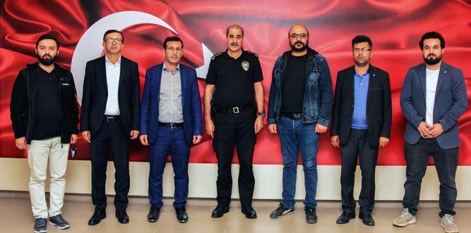 UGİYAD'dan İl Emniyet Müdürü Cebeloğlu'na ziyaret