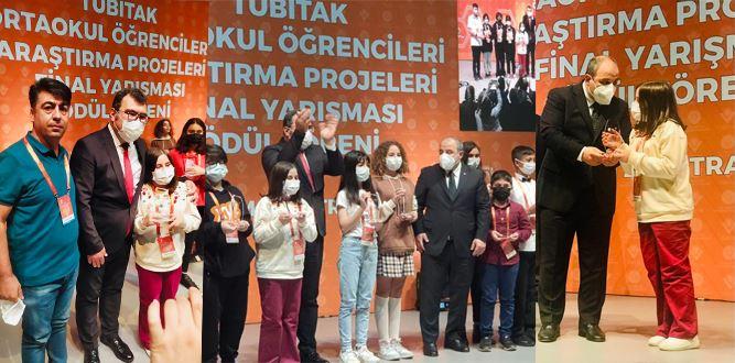 15. TÜBİTAK Yarışmasında Kahramanmaraş BİLSEM'in Sesi