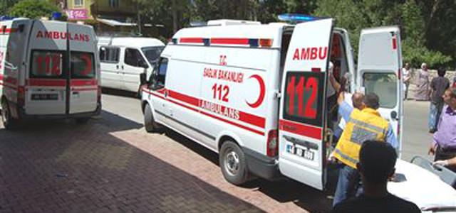 Göksun'da trafik Kazası: 3 Yaralı