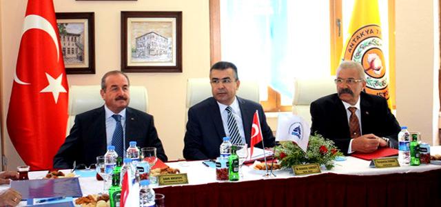 DOĞAKA Yönetim Kurulu Toplantısı Antakya'da yapıldı