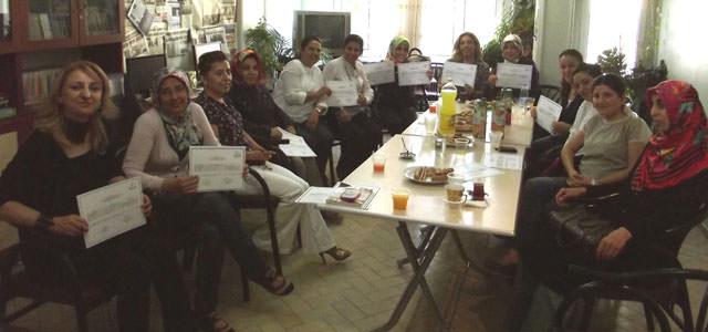 Türk  Eğitim Sendikasından sertifika töreni