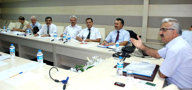İlçe Milli Eğitim Müdürleri ile eğitim değerlendirildi