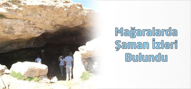 Mağaralarda Şaman İzleri Bulundu