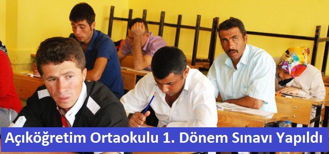 Açık Öğretim Ortaokulu Sınavları Yapıldı