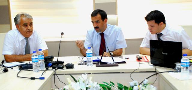 Yabancı Uyruklu Öğrenciler Komisyonu toplandı