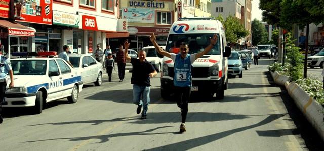 Elbistan Belediyesini Düzenlediği Ultramaraton sona erdi