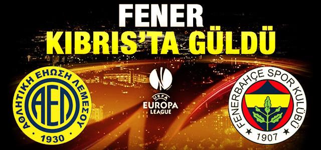 Fenerbahçe Kıbrıs'tan 3 puanla döndü