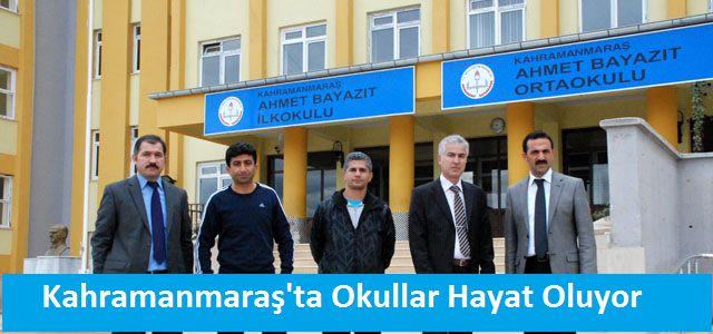 Kahramanmaraş'ta Okullar Hayat Oluyor