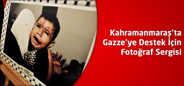 Kahramanmaraş'ta Gazze'ye Destek İçin Fotoğraf Sergisi