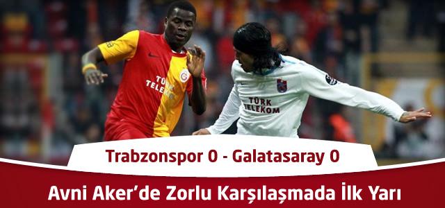 Trabzonspor 0 – Galatasaray 0 | İlk Yarı Sonucu – Spor Toto Süper Lig 17. Hafta