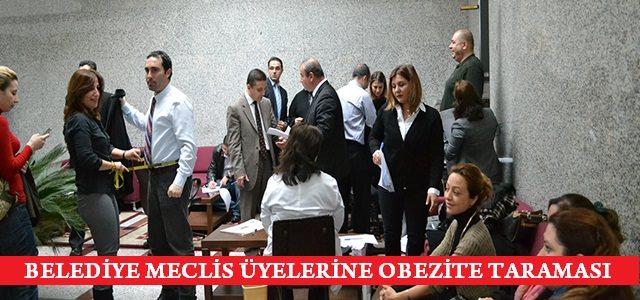 Meclis Üyelerine Obezite Taraması