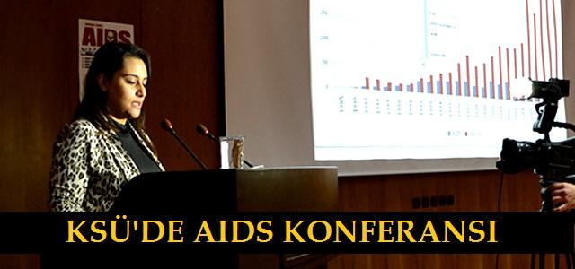 KSÜ' DE AIDS Haftası Konferansı