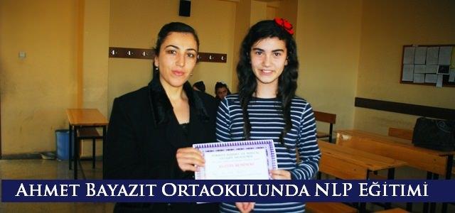 Ahmet Bayazıt Ortaokulu öğrencilerine  NLP Eğitimi
