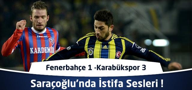 Fenerbahçe 1 – Karabükspor 3 | Spor Toto Süper Lig 17. Hafta
