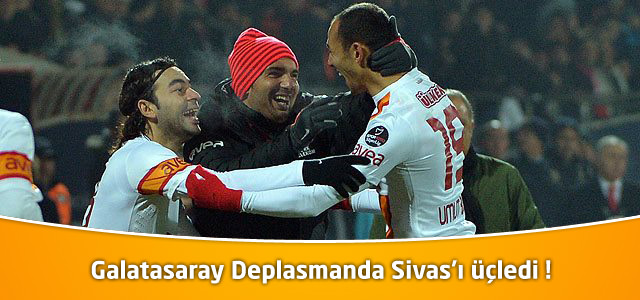 Sivasspor 1- Galatasaray 3 | Spor Toto Süper Lig 15. Hafta