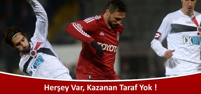 Gençlerbirliği 1 – Beşiktaş 1 | Spor Toto Süper Lig 16. Hafta