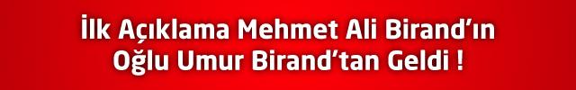 Mehmet Ali Birand'ın Beyin Ölümü Gerçekleşti