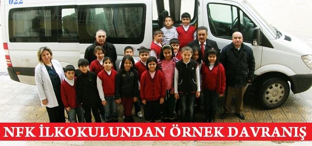 NFK İlkokulundan Kardeş Okula Yardım Eli