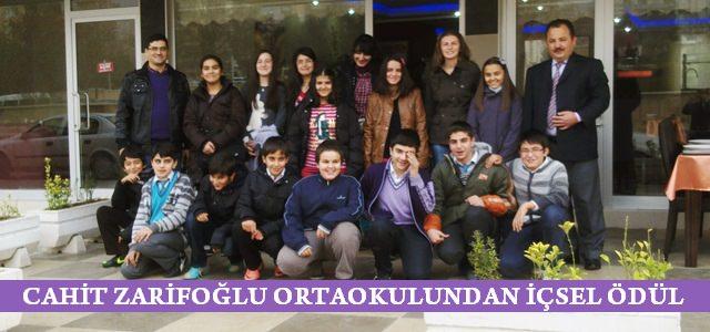 Cahit Zarifoğlu Ortaokuldan İçsel Ödül