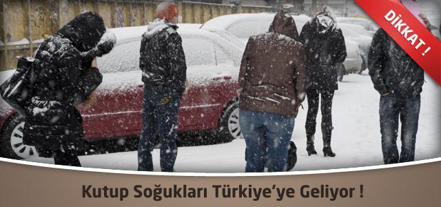 Kutup Soğukları Türkiye'ye Geliyor !