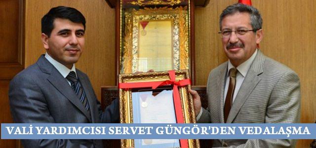 Vali Yardımcısı Servet Güngör'den veda ziyareti