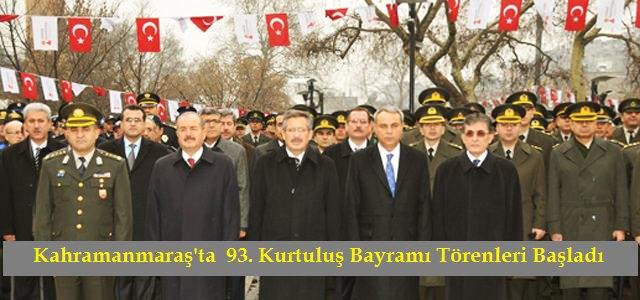 Kahramanmaraş'ın düşman işgalinden kurtuluşunun 93. yıldönümü  törenlerle kutlanıyor