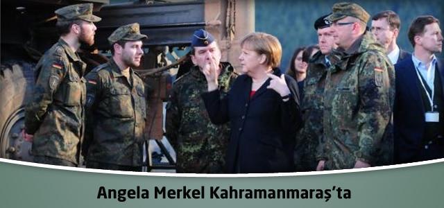 Angela Merkel Kahramanmaraş'ta