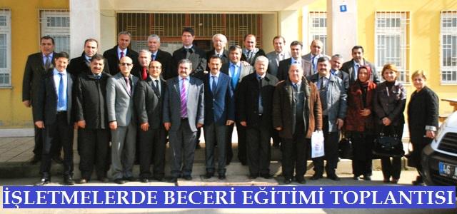 İşletmelerde Beceri Eğitimi Karacasu ÇPL' de Yapıldı