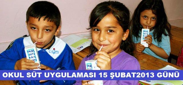 Okul Sütü Uygulaması Kahramanmaraş'ta 15 Şubat Cuma Günü Başlıyor.