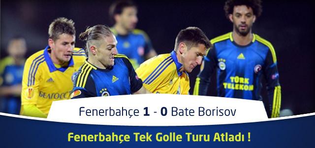 Fenerbahçe 1 – 0 Bate Borisov – Canlı Maç Özeti – UEFA Avrupa Ligi