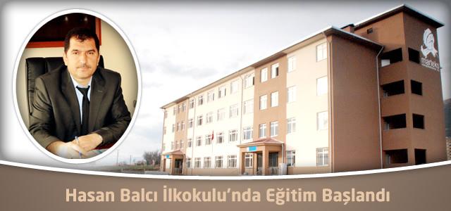 Hasan Balcı İlkokulunda Eğitim Başladı