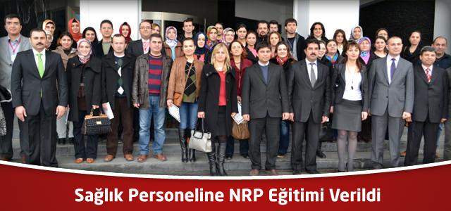 Sağlık Personeline NRP Eğitimi Verildi