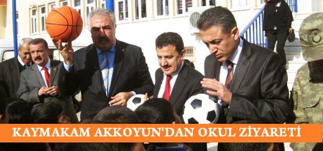 Kaymakam Akkoyun'dan YİBO Ziyareti