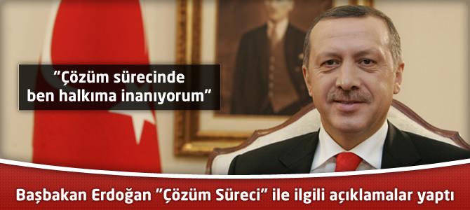 """Başbakan Erdoğan """"Çözüm Süreci"""" ile ilgili açıklamalar yaptı"""