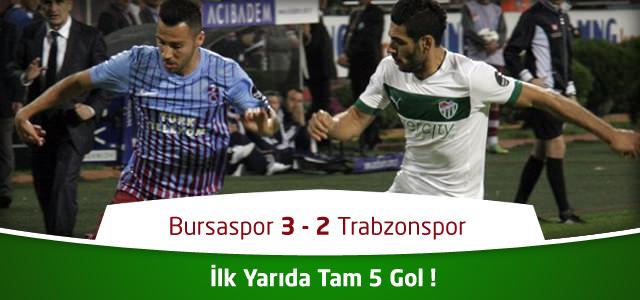 Bursaspor – Trabzonspor Canlı Maç Özeti
