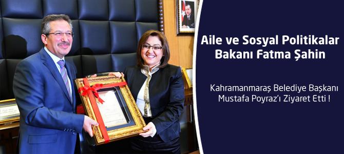 Bakan Şahin'den Belediyeyi Ziyaret