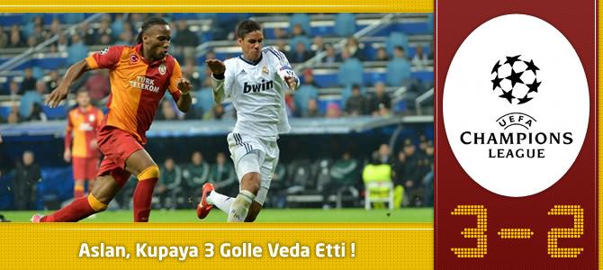Galatasaray 3 – 2 Real Madrid Maç özeti ve goller