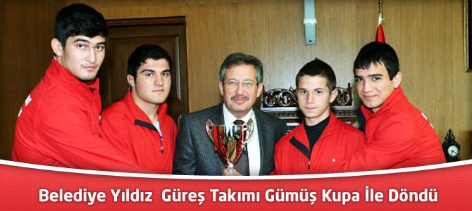 Belediye Yıldız  Güreş Takımı Gümüş Kupa İle Döndü