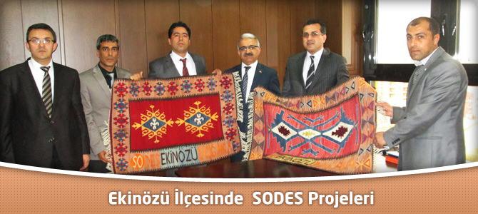 Ekinözü İlçesinde  SODES Projeleri