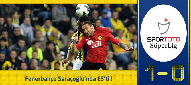 Fenerbahçe 1 – 0 Eskişehirspor Maç özeti