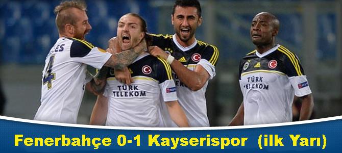 Fenerbahçe 1-1 Kayserispor (ikinci Yarı Devam Ediyor)